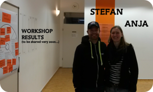Anja & Stefan (smiling)