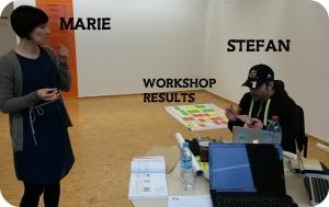 Marie & Stefan (working hard)